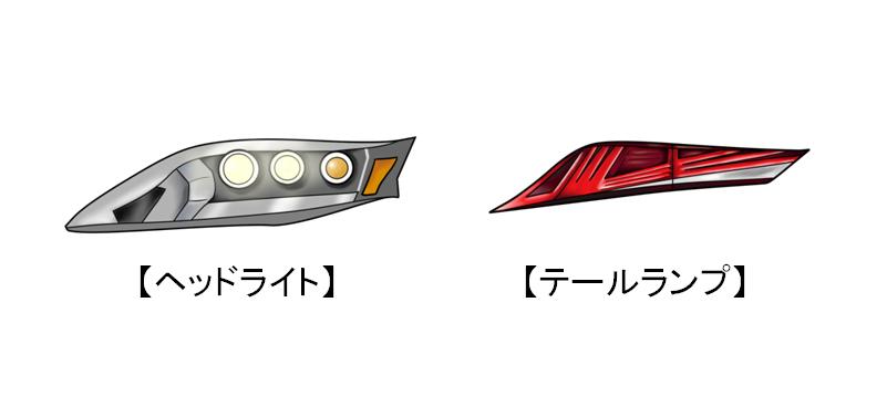車載ヘッドライト(テールランプ)用の放熱部品について
